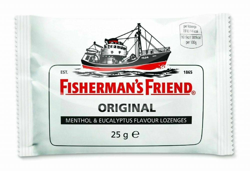 Fishermans Friend Aniseed Menthol Flavour Lozenges 25g - 3 Pack